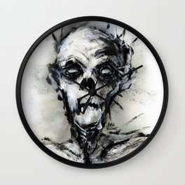 Zombie Wall Clock