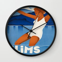 Vintage poster - Switzerland Wall Clock