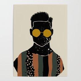 Black Hair No. 7 Poster