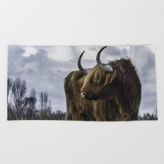 Highlander 3 Beach Towel