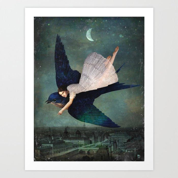 fly me to paris Kunstdrucke