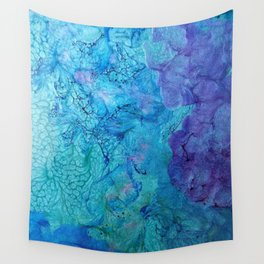 Sea Foam Wall Tapestry