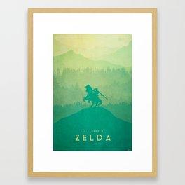 Warrior - The Legend of Zelda Framed Art Print