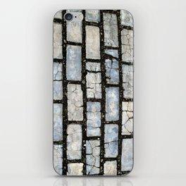 Blue Street Grid iPhone Skin
