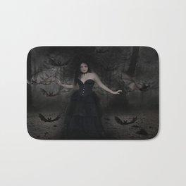 Mistress of the Bats Bath Mat