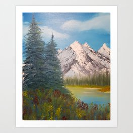 Autumn, Canadian Rockies Art Print