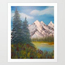Autumn, Canadian Rockies Art Print