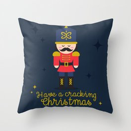 Cracking Xmas Throw Pillow