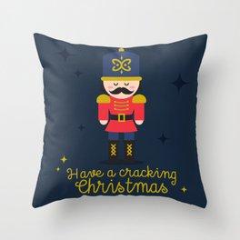 Cracking Xmas Throw Pillow