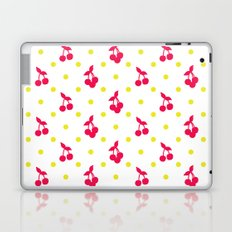 Dots and cherries Laptop & iPad Skin