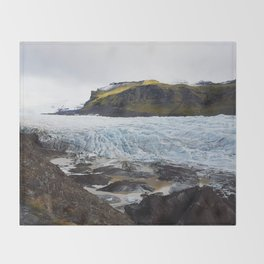 Flowing Ice Throw Blanket