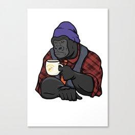 Grumpy Gorilla's Banana Brew Canvas Print