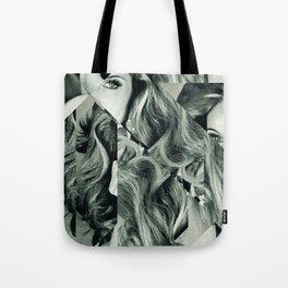 Frau Dreiecke 4 Tote Bag