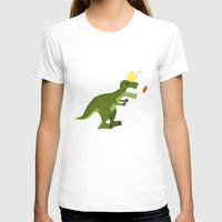 dinosaur T-shirts featuring dinosaur by Nir P