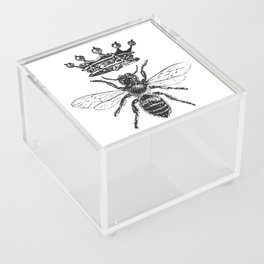 Queen Bee | Black and White Acrylic Box