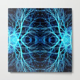 215 - Abstract tree branch design Metal Print