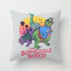 The Bodacious Period Throw Pillow