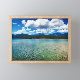 Glorious Eibsee Framed Mini Art Print