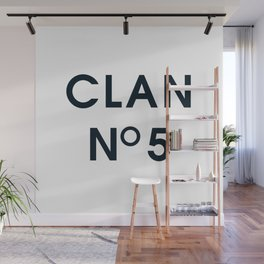 CLAN No 5 Wall Mural