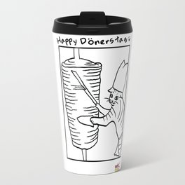 Happy Dönerstag Travel Mug