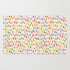 Ice Lolly, Popsicle, Ice Cream, Print.  Rug