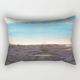 Sometime at the beach Rectangular Pillow