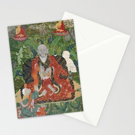 The arhat with golden nimbus, 1794 Stationery Cards