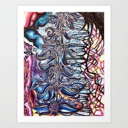 Blue Life Art Print