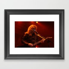 Megadeth Live at the State  Framed Art Print