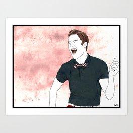 Blaine Warbler Art Print