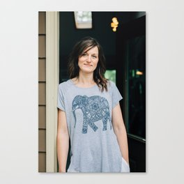 Artists In Jackson: Nicole Cure Canvas Print