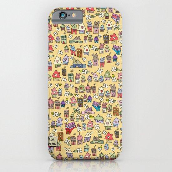 Houses - springish iPhone & iPod Case