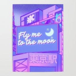 Moon City Poster