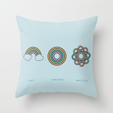 Particle Throw Pillow
