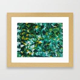 Floral Floral Framed Art Print