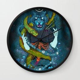 no miracles (full colour) Wall Clock
