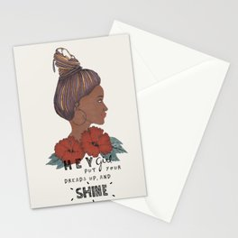 Dreads up Stationery Cards