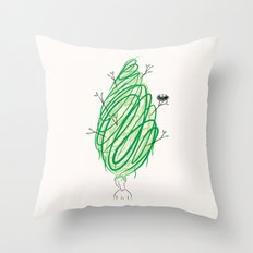 Let It Grow No.2  Throw Pillow