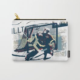 Goalie - Ice Hockey Player Carry-All Pouch