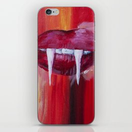Vamp Lips iPhone Skin