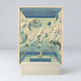 Blue Hours Mini Art Print
