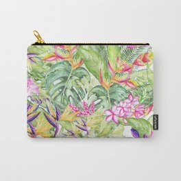 Tropical Garden 1A #society6 Carry-All Pouch