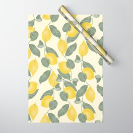 Citrus Pattern Wrapping Paper