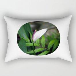 Pink Anthurium Rectangular Pillow