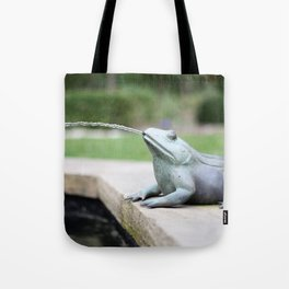 Jonathan Martin - finder of frog fountains.  Tote Bag