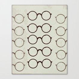 (Glasses) Canvas Print