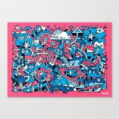 Charm Defensive Canvas Print