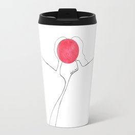 love has no face Travel Mug