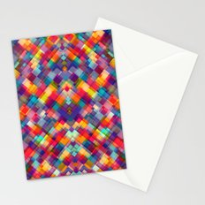 Squares Everywhere Stationery Cards
