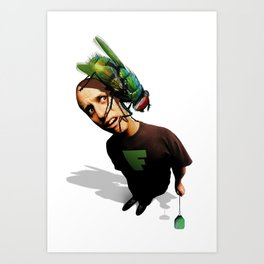 What's Bugging You? Art Print